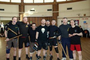 CEA/DBMA UK Instructors and Guro Benjamin Rittiner (DBMA European Head)